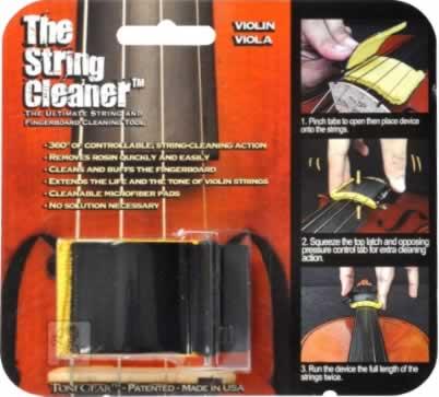 画像1: The String Cleaner for Violin/Viola (1)