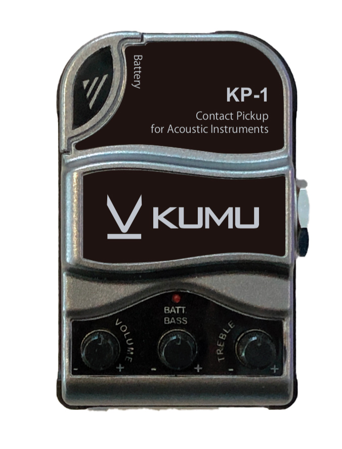 画像1: KUMU Ukulele コンタクトピックアップ (1)