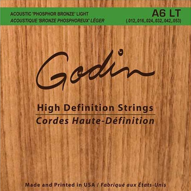 画像1: Godin A6-LT Strings (.012, .016, .024, .032, .042, .053) (1)