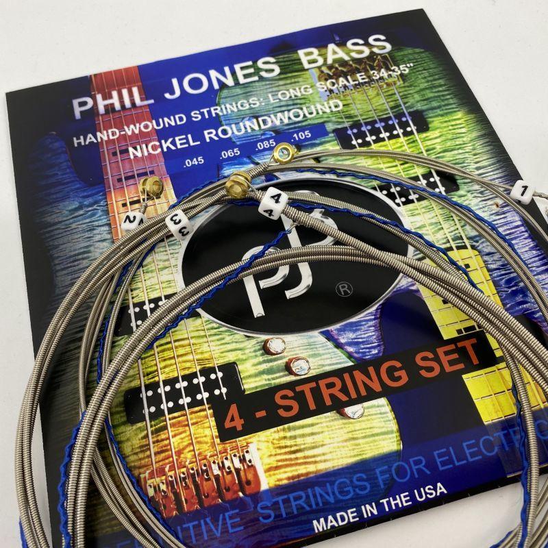 画像1: PJB ベース弦:4弦, 045-105 (1)