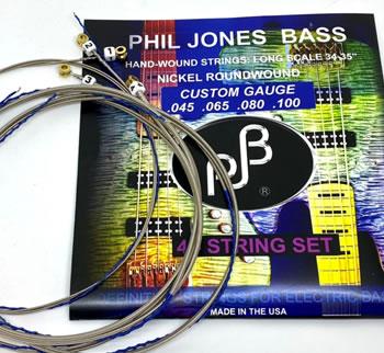 画像1: PJB ベース弦:4弦ライト, 045-100 (1)