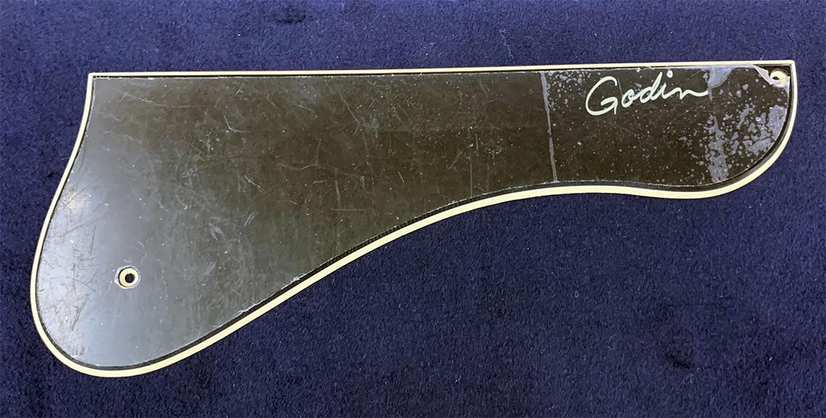 画像1: Godin 5th Avenue用ピックガード Black (1)